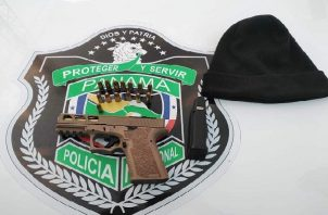 Las autoridades policiales reportaron la detención de cuatro personas, que iban a bordo de un taxi en la comunidad de San Pedro en el corregimiento de Cativá.