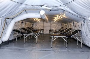 Estados Unidos ya ha donado cuatro hospitales campaña a Panamá.
