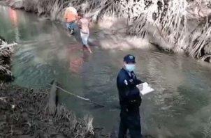 La persona que fue encontrada en el manglar se dedicaba a la recolección de conchas para su sustento diario.