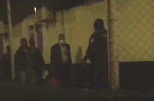 El diputado del Parlamento Centroamericano, Carlos Outten, fue detenido el pasado jueves durante una protesta en la provincia de Colón.