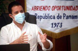 Gerente general del Banco Hipotecario Nacional, Gean Marc Córdoba. Foto: Víctor Arosemena