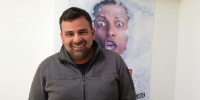 Arturo Montenegro trabaja en guión de 'Fama 0' , una historia inspirada en las relaciones  digitales. Miriam Lasso