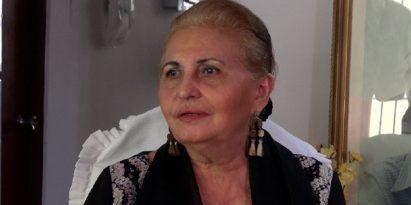 El mayor deseo de la cantante típica Esthercita Nieto es enseñar a las nuevas generaciones. /Foto Juan Carlos Lamboglia