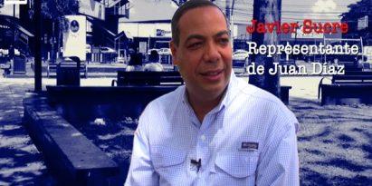 Javier Sucre, representante de Juan Díaz. Foto/JC Lamboglia