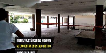Estudiantes y docentes del Instituto José Dolores Moscote exigen mejoras. Foto/Epasa