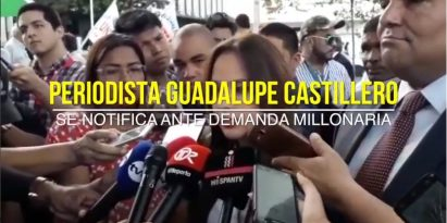 Periodista Guadalupe Castillero