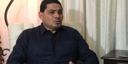 La corrupción está institucionalizada en el país, afirma el precandidato presidencial Saúl Méndez.  Juan Carlos Lamboglia