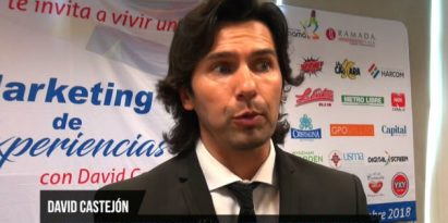David Castejon Conferencista Internacional/Markenting de Experiencia