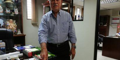Las matemáticas son para toda la vida, reconoce el profesor Félix H. Cuevas S.  Miriam Lasso
