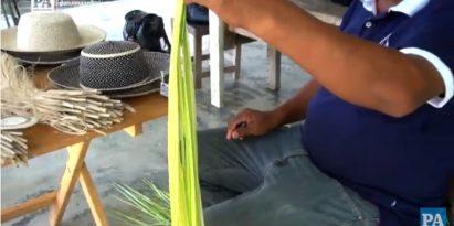 El sombrero pintao se fabrica en la comunidad de La Pintada