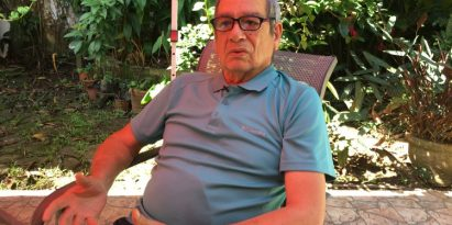 Ramiro Vásquez Chambonnet era dirigente estudiantil  en  la gesta del 9 de enero de 1964. Juan Carlos Lamboglia