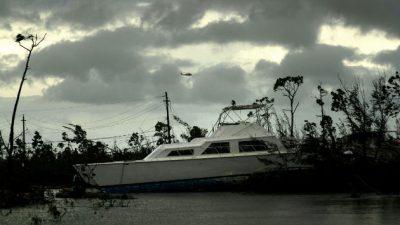 Dorian llegó a Bahamas como un huracán de categoría 5. Agencias