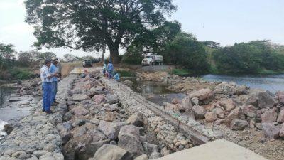 Represamiento en el río Chico, Coclé. Foto: Cortesía