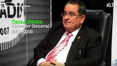 Óscar Sittón es el director general de la Secretaría Nacional de Discapacidad (Senadis).