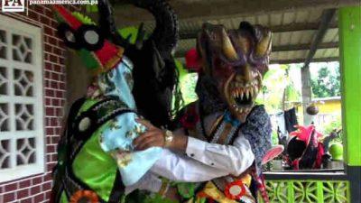 La Danza del Gran Diablo de La Chorrera. Foto/Miriam Lasso