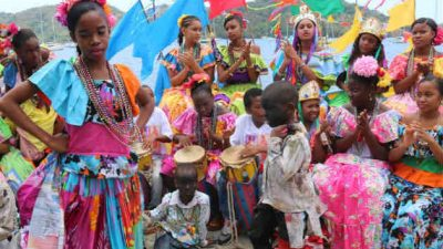 Diferentes aspectos representativos afrocoloniales. Foto/FAnny Arias
