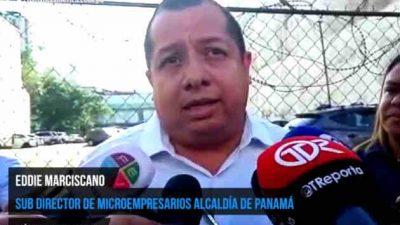 Municipio de Panamá aplicará normas en cuanto la buhonería. Foto/Belys Toribio