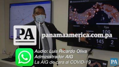 Luis Ricardo Oliva, administrador AIG.
