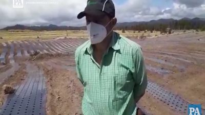 Productores preocupados por futuro del agro.