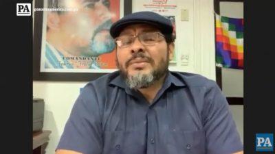 Saúl Méndez, secretario genera del Suntracs.