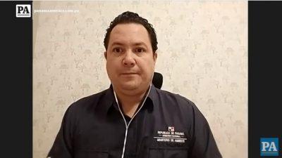 José Julio Casas, director de Costas y Mares de MiAmbiente.