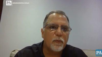 Camilo Amado, presidente del Comité Olímpico de Panamá.
