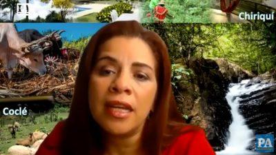 Corina Cano, diputada.