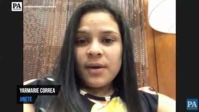 Yarmerie Correa, jinete panameña.