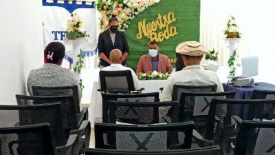 Bodas civiles en la sede del Tribunal Electoral en Panamá Norte.