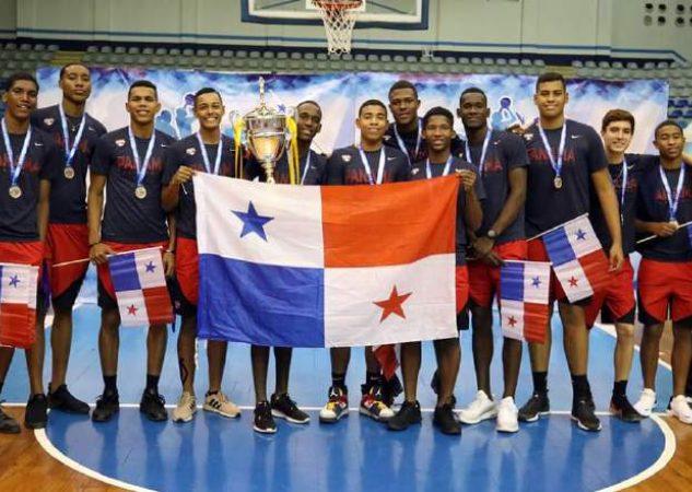 Selección de Panamá en el Centroamericano masculino. Fepaba