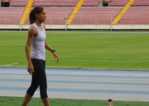 Aranda entrena en Panamá. Cortesía