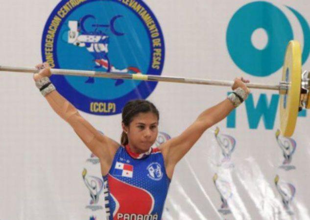Erika Ortega compite en la división de los -49 kilogramos. Foto @COlimpicoPanama