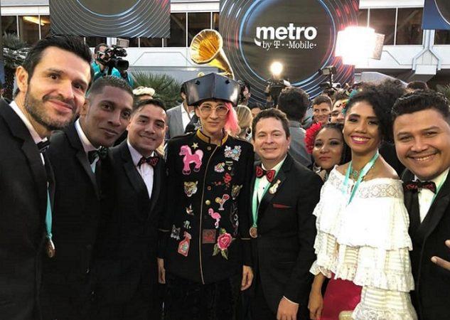 El grupo panameño Afrodisíaco estaba nominado a 'Mejor Álbum Folclórico' por su disco 'Viene de Panamá'.