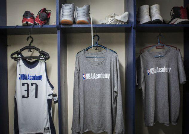 La Academia NBA en Saly, Senegal, es parte de una iniciativa de la liga para crecer el juego en África. Foto/ Jane Hahn para The New York Times.