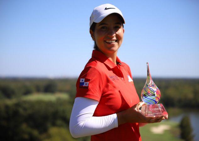 Laura Restrepo durante la tercera ronda.