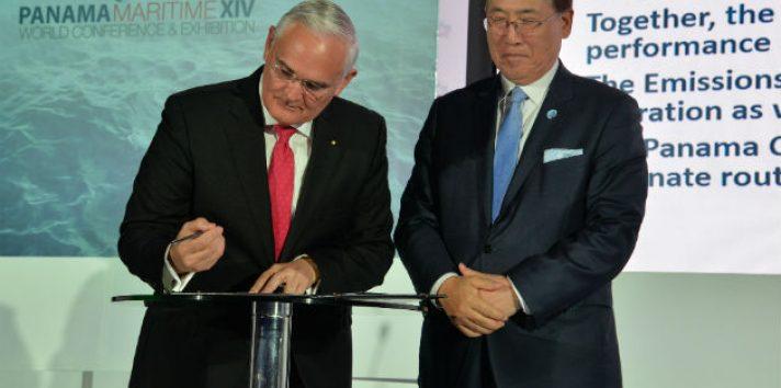 """La Autoridad del Canal de Panamá (ACP) se convirtió este lunes en la primera institución latinoamericana en adherirse al """"Global Industry Alliance"""" (GIA)."""