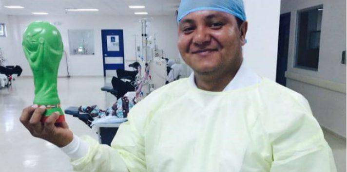 Joseph Manuel Batista era enfermero en el hospital de Puerto Armuelles. Foto: Mayra Madrid.