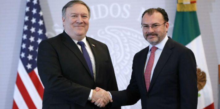 """México y EE.UU. todavía tienen """"muchos retos por delante""""."""
