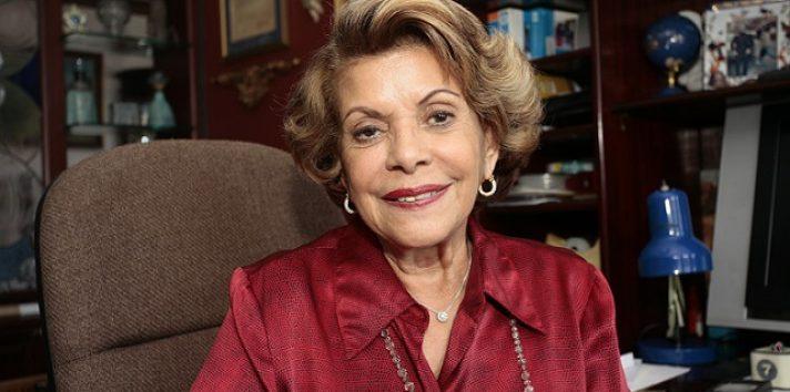 Familiares, amigos, figuras de la literatura, la política y otras homenajearon a Rosa María Britton. Foto: Anayansi Gamez.