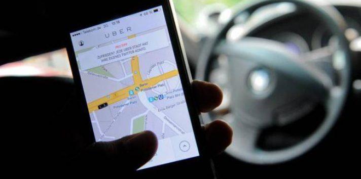 Uber en Panamá.