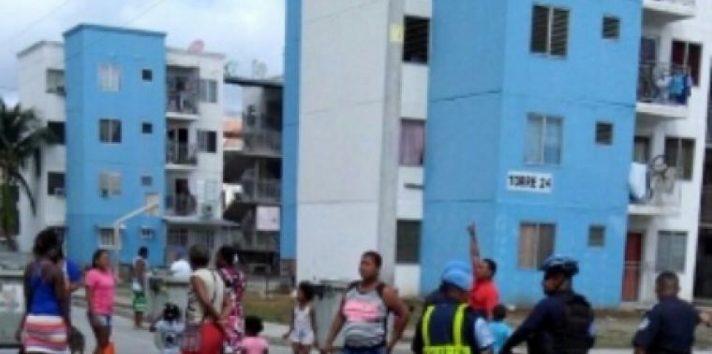 En medio de la pandemia del coronavirus (COVID-19) se registraron actos de vandalismo en Curundú.