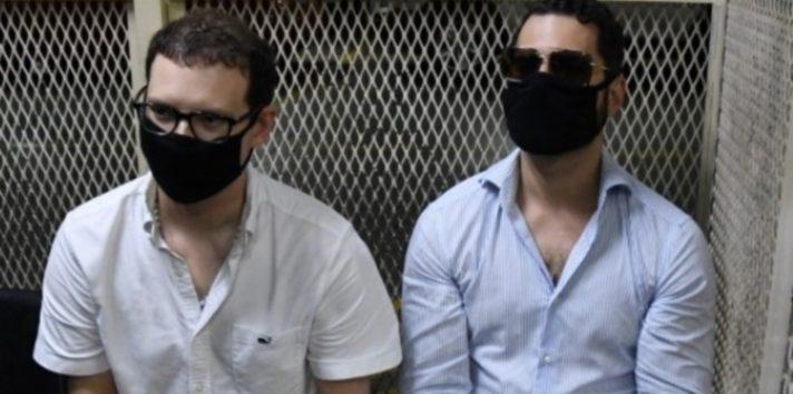 Luis Enrique y Ricardo Alberto Martinelli Linares, diputados del Parlacen. Archivo