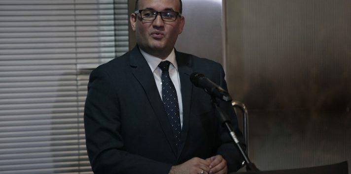 Alfredo Juncá, magistrado del Tribunal Electoral.