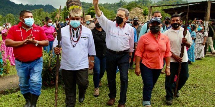Laurentino Cortizo está convencido de que los indígenas conservarán las áreas protegidas.