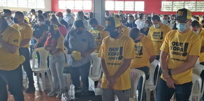Durante el encuentro de jóvenes que se realizó en la ciudad de David, estuvo presente el secretario general del partido Luis Eduardo Camacho quién envió un mensaje de esperanza e inclusión para los jóvenes que son pilares importantes para Panamá.