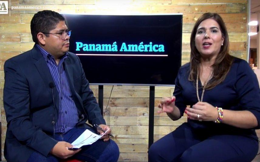 Abogada venezolana, Andreina Chacin habla de crisis en Venezuela. Foto/Panamá América