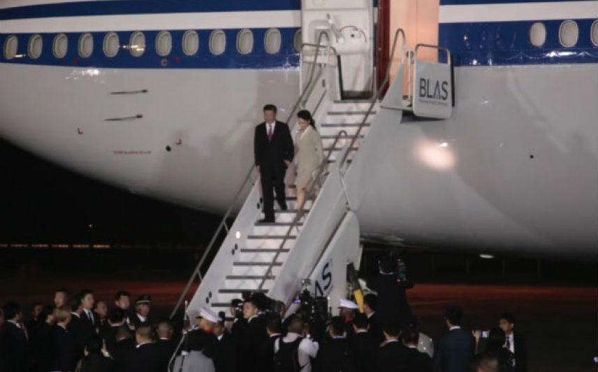 Visita del presidente de la República Popular de China a Panamá. Foto/Víctor Arosemena