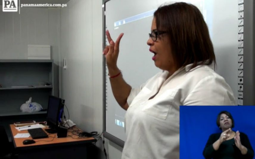 En el Ministerio de Educación (Meduca)  hay registrados unos 12 maestros de educación especial con discapacidad y de estos cuatro son sordos,. Foto/JCLamboglia
