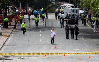Las autoridades realizan las investigaciones correspondientes para encontrar a los culpables del bombazo. /Foto EFE