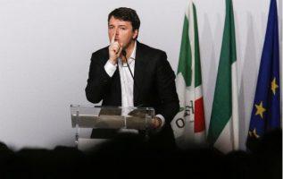 Ex primer ministro italiano Matteo Renzi. FOTO/AP